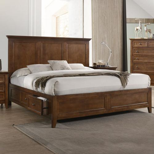 San Mateo Storage Bed  Tuscan