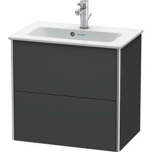 Vanity Unit Wall-mounted Compact, Graphite Matte (decor)