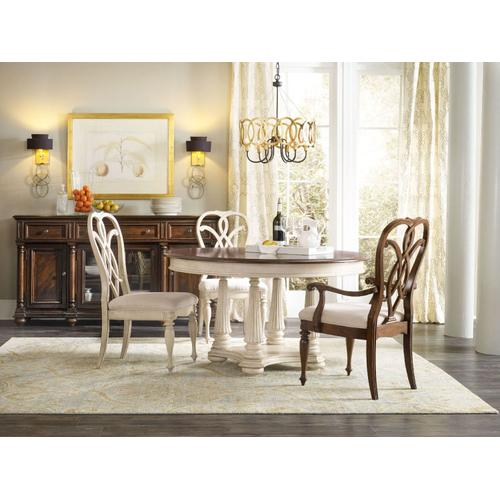 Dining Room Leesburg Splatback Arm Chair - 2 per carton/price ea