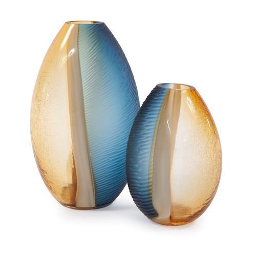 Howard Elliott - Mirina Hand Blown Glass Vase, Large