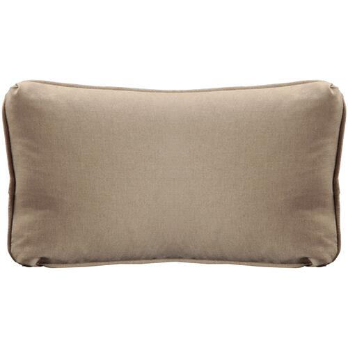 "Throw Pillows Knife Edge Kidney w/welt (12"" x 22"")"