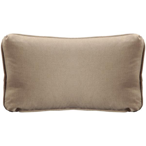 "See Details - Throw Pillows Knife Edge Kidney w/welt (12"" x 22"")"