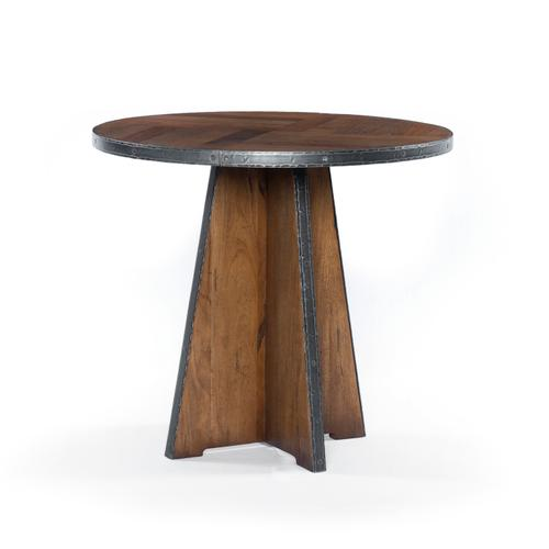 Haven End Table-reclaimed Fruitwood