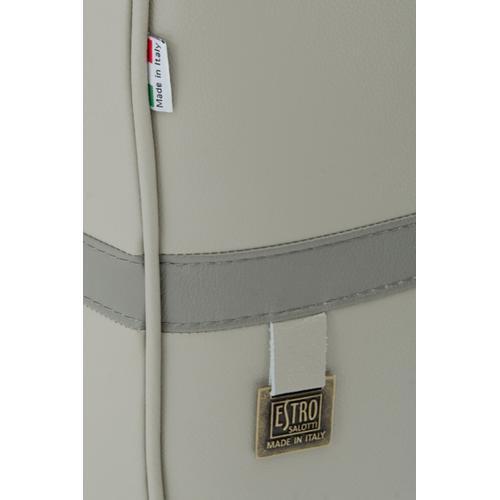 Gallery - Estro Salotti Evita Modern Grey Leather Sofa Set