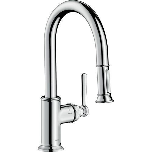 AXOR - Chrome Prep Kitchen Faucet 2-Spray Pull-Down, 1.75 GPM