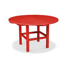 View Product - Kids Dining Table in Sunset Red