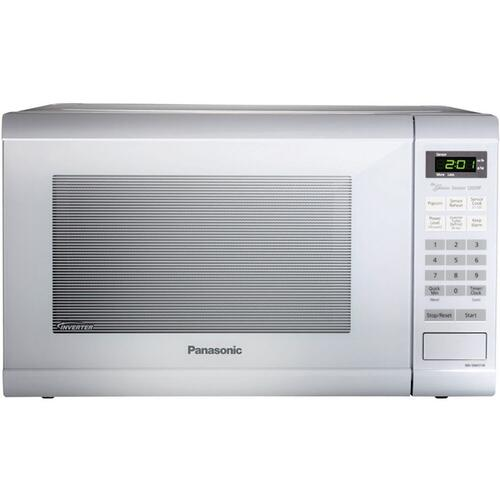 Panasonic - 1.2 Cu. Ft. Countertop Microwave Oven with Inverter Technology - White - NN-SN651W