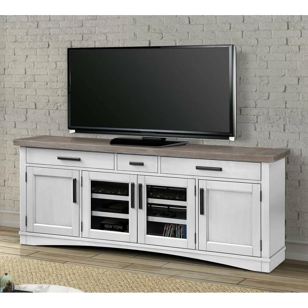 AMERICANA MODERN - COTTON 76 in. TV Console
