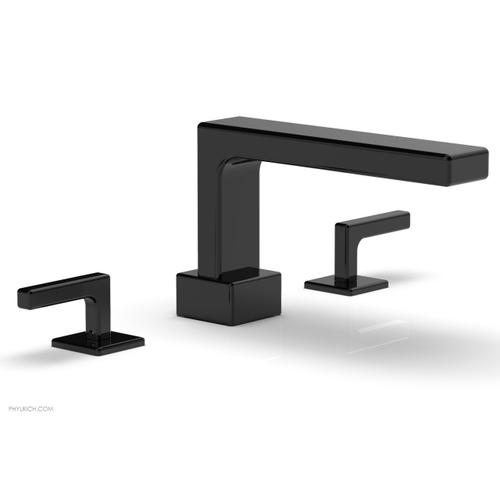 MIX Deck Tub Set - Lever Handles 290-41 - Gloss Black