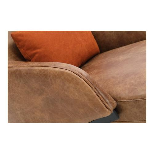 Moe's Home Collection - Amos Leather Accent Chair