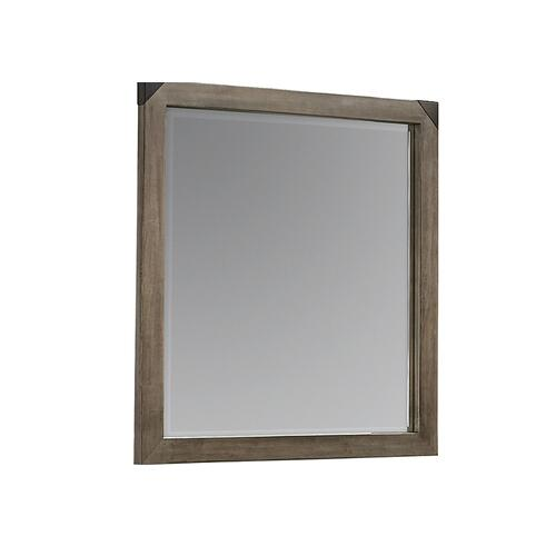 Artisan & Post Solid Wood - Landscape Mirror with Beveled Glass