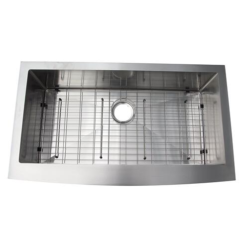 Amanda Single Bowl Stainless Farmer Sink - 30""