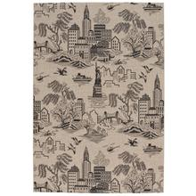 """View Product - Finesse-NY Toile Noir - Rectangle - 3'11"""" x 5'6"""""""