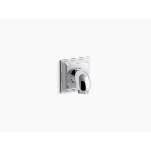 Vibrant Brushed Nickel Wall-mount Supply Elbow With Check Valve