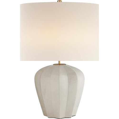 Visual Comfort - AERIN Pierrepont 30 inch 75.00 watt Bone Craquelure Table Lamp Portable Light, Medium