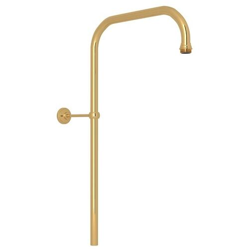 "English Gold Perrin & Rowe 31"" X 15"" Rigid Riser Shower Outlet"