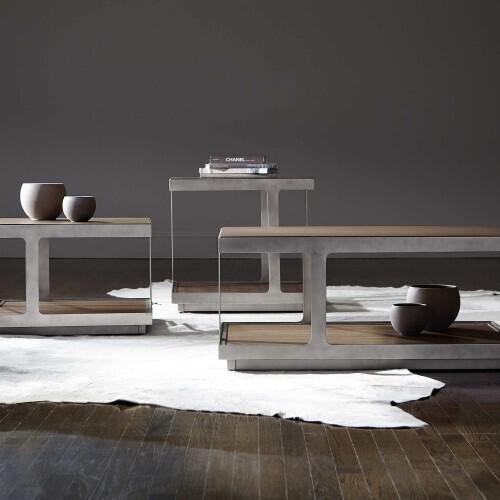 Bernhardt - Belvedere End Table in Portobello
