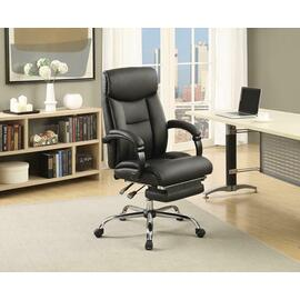 See Details - Transitional Chrome Office Chair