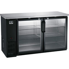 "View Product - Refrigeration Equipment Bar Equipment 2-glass door Refrigerator, 15.8 cu.ft, 48"""