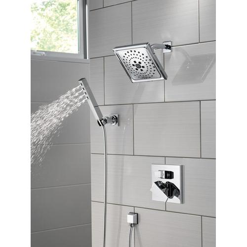 Black Stainless H 2 Okinetic ® Single-Setting Adjustable Wall Mount Hand Shower