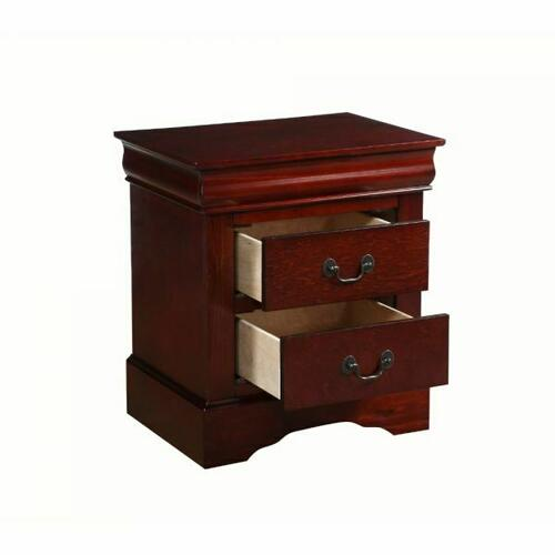 ACME Louis Philippe III Nightstand - 19523 - Cherry