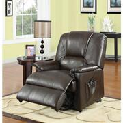BWN PU RECLINER W/LIFT&MASSAGE Product Image