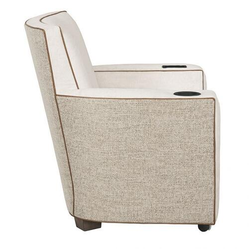 Fairfield - Payton Lounge Chair with Casters, Cupholder, UV-C