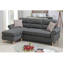 2-pcs Sectional W/2 Accent Pillow