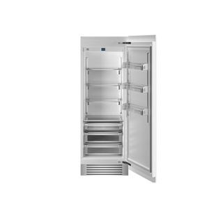 "Bertazzoni30"" Built-in Refrigerator Column Panel Ready Panel Ready"