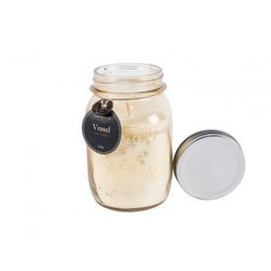 Yellow Mason Jar Candle - Hot Toddy