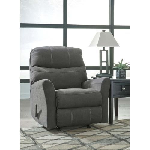 Maier Rocker Recliner Charcoal