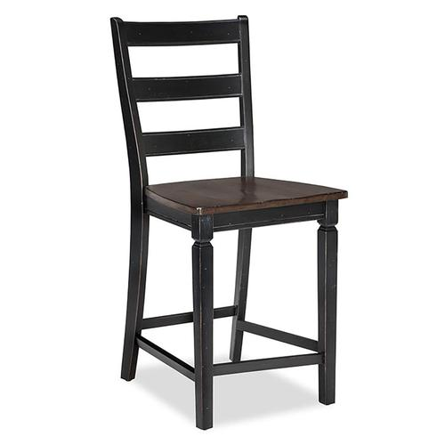 Glennwood Stool  Black & Charcoal