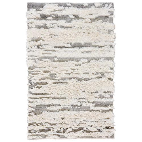 "Nomad Ivory Grey - Rectangle - 3'6"" x 5'6"""