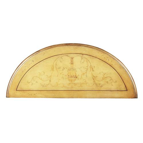 Butler Specialty Company - Unique hand painted design on selected hardwoods and wood products. Felt lined drawer with antique brass finished drawer pull.