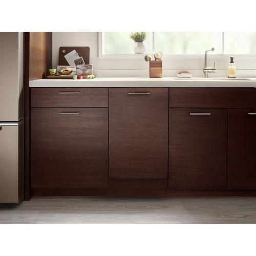 Whirlpool - Panel-Ready Compact Dishwasher with Stainless Steel Tub