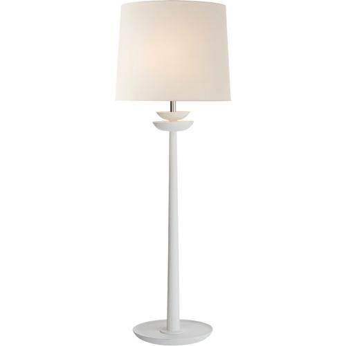AERIN Beaumont 30 inch 60 watt Matte White Buffet Lamp Portable Light, Medium