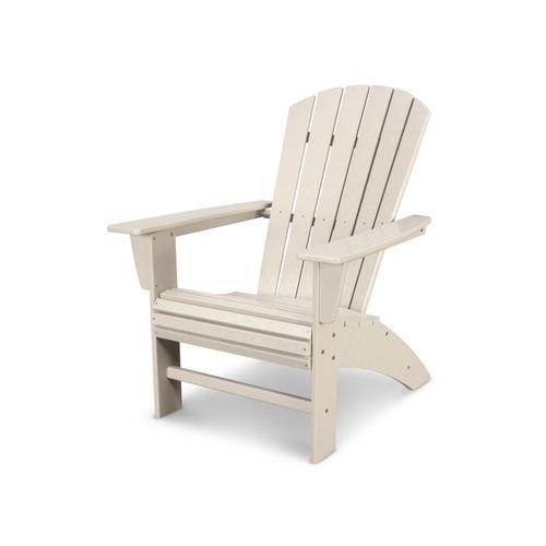 Sand Nautical Curveback Adirondack Chair