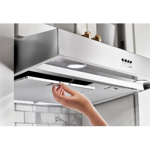 "24"" Range Hood with Full-Width Grease Filters"