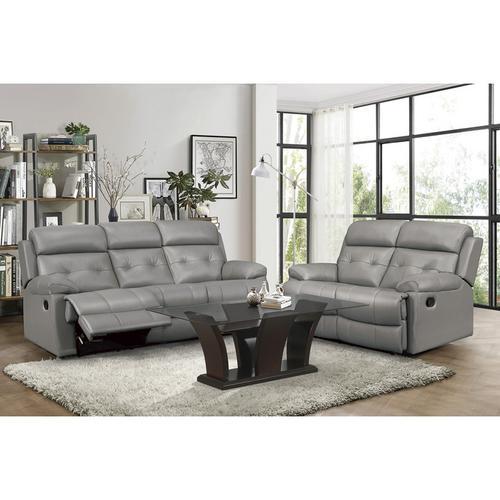 Homelegance - Double Reclining Sofa