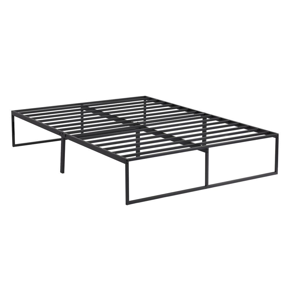 Modern Platform Bed Frame - 1-piece Cal King