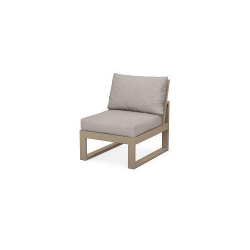 Product Image - Modular Armless Chair in Vintage Sahara / Weathered Tweed