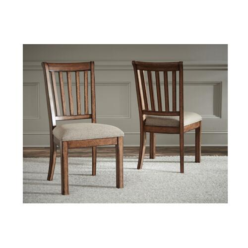 Oxford Place Slat Back Side Chair
