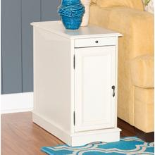 See Details - 15A2017WA  Butler White Accent Table