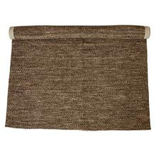 Product Image - 5' x 7' Hand-Woven Wool & Cotton Blend Rug, Brown