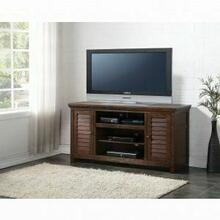 ACME Evrard TV Stand - 91350 - Dark Oak