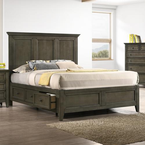 Intercon Furniture - San Mateo Storage Bed  Gray