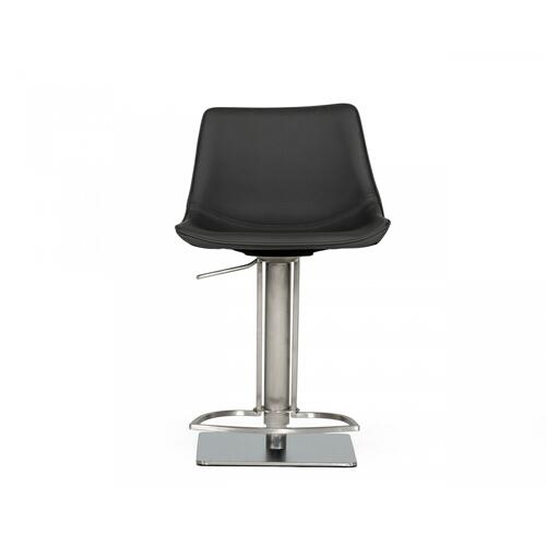 VIG Furniture - Modrest Manning - Modern Grey Bar Stool