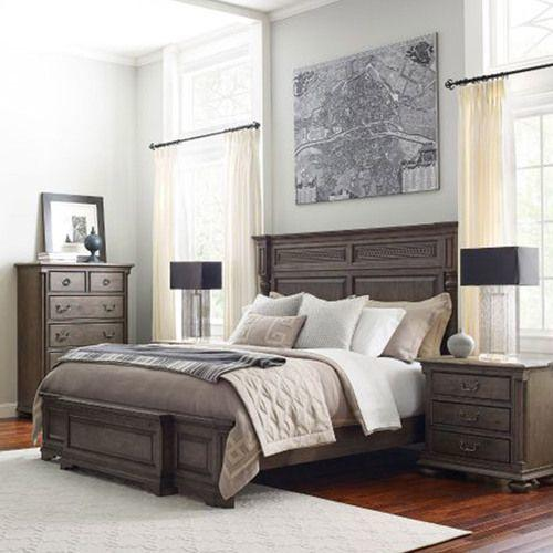Greyson Logan Queen Panel Bed - Complete