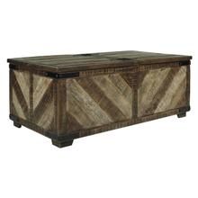 See Details - Rect Storage Cocktail Table