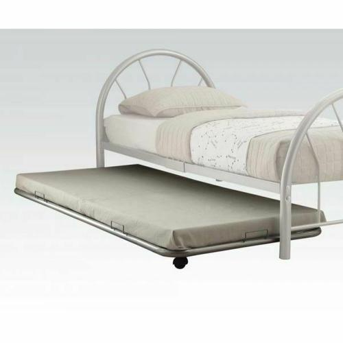ACME Cailyn Trundle (Twin) - 30463SI - Silver